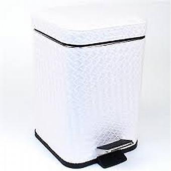 Gedy Marrakech Pedal Bin Soft Close 3L White Pearl 6709 42