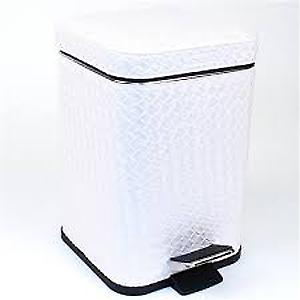 Gedy Marrakech Pedal Bin Soft Close 3L White Pearl 6709 42