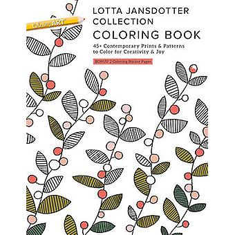 Lotta Jansdotter Collection Coloring Book - 45+ Contemporary Prints &