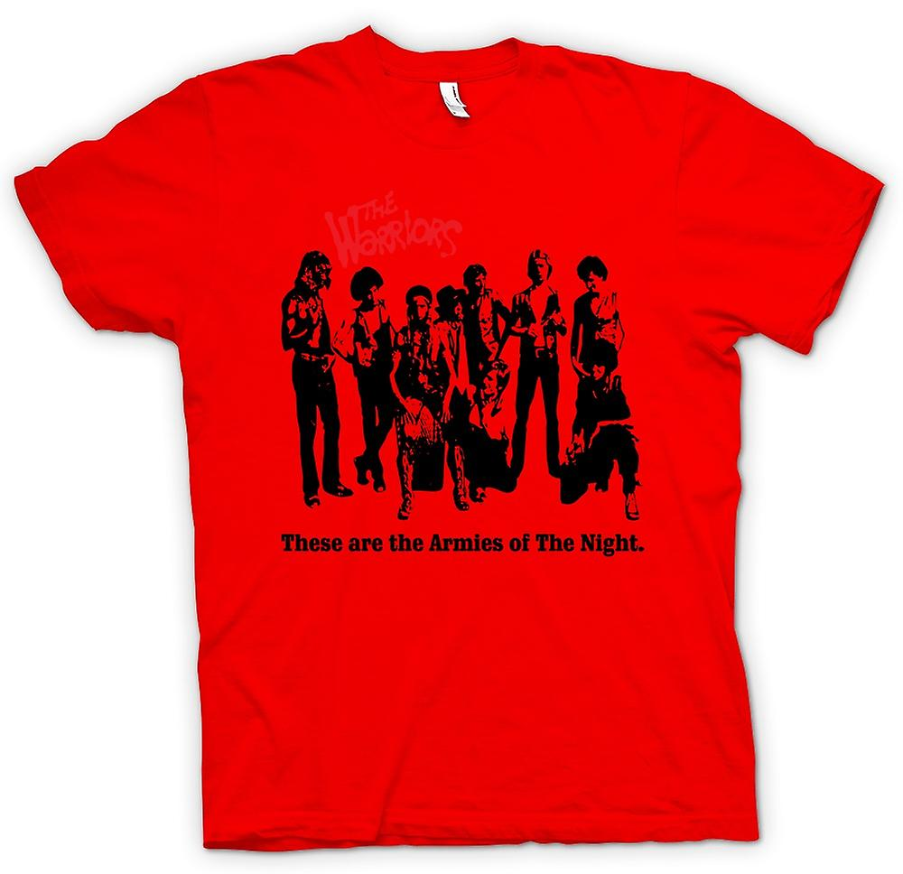 Mens T-shirt - The Warriors - New York - Gangs