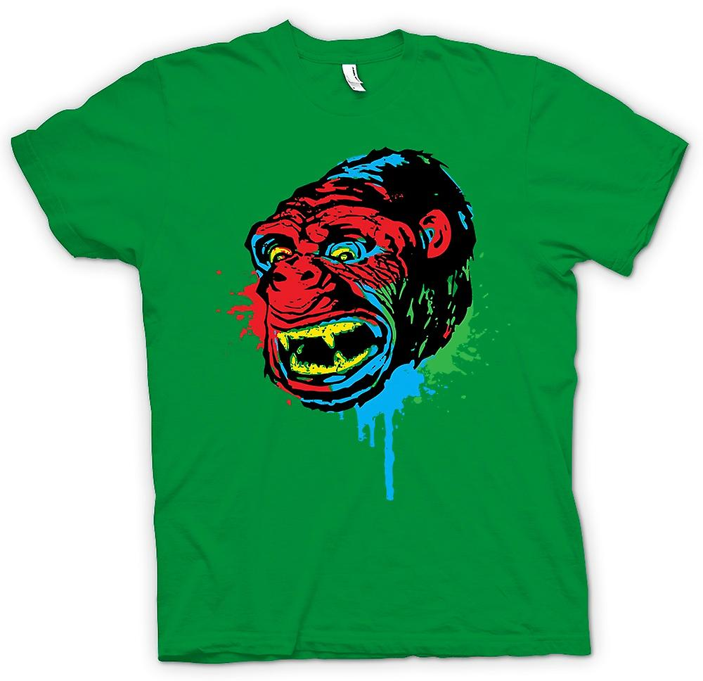 Mens T-shirt - Pop Art - Ape Gorilla - Cool Design