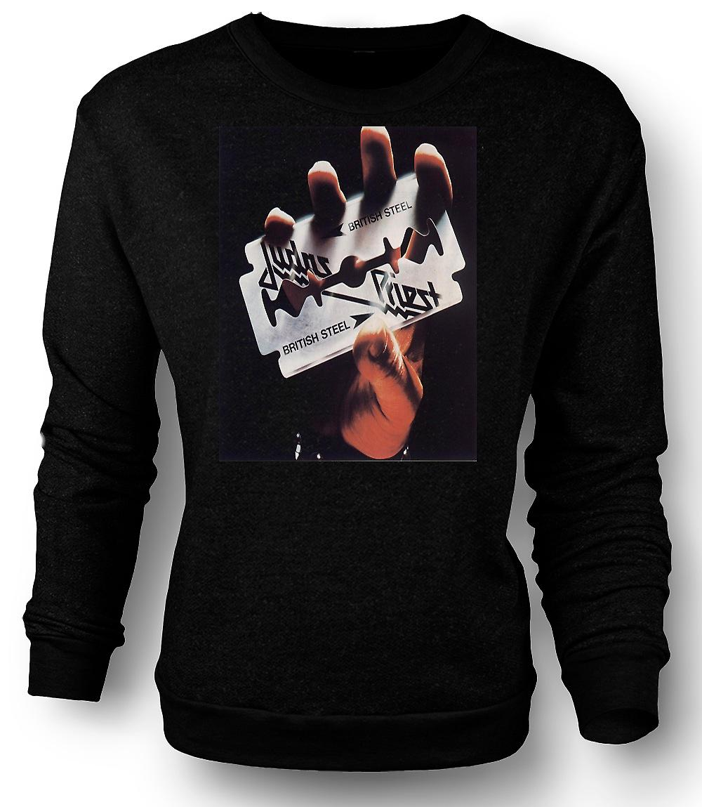 Mens Sweatshirt Judas Priest - British Steel - Heavy Metal