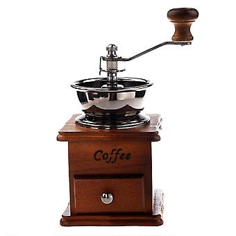 Manual coffee grinder in antique style