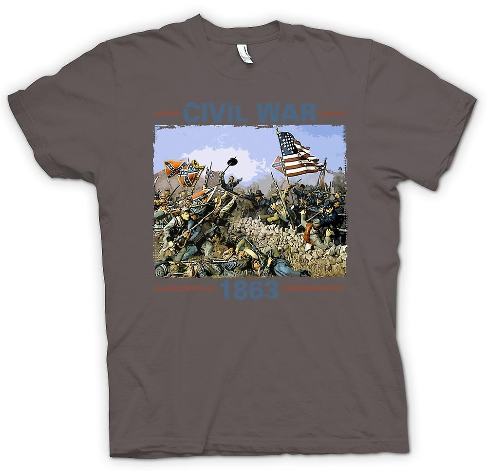 Womens T-shirt - American Civil War 1863 - War Inspired