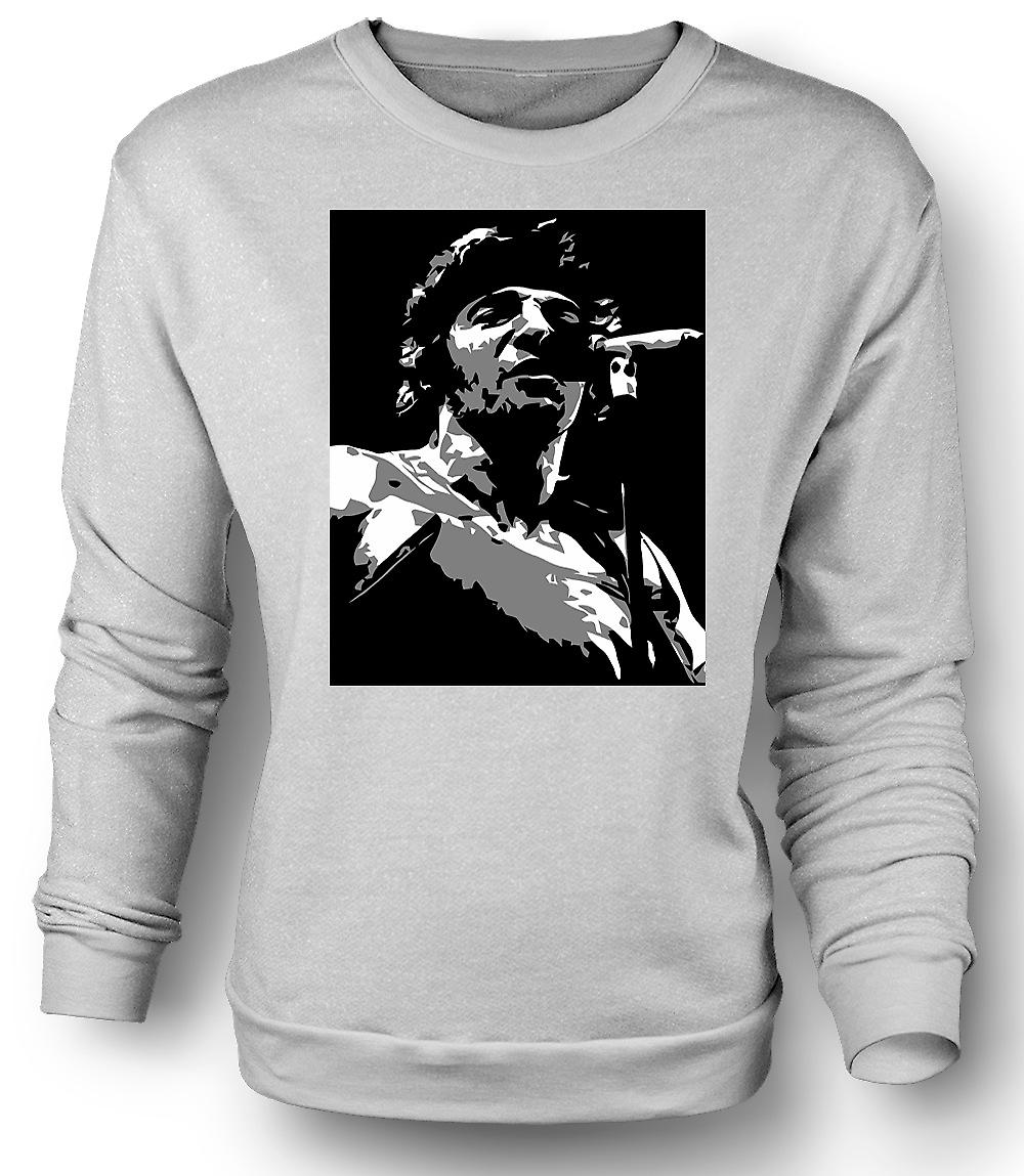 Mens Sweatshirt Bruce Springsteen - BW