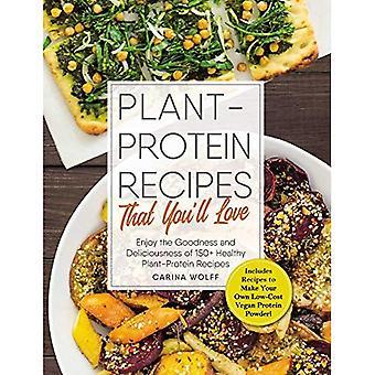 Plante-Protein opskrifter, som du vil elske