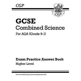 Nya GCSE kombinerade vetenskap: AQA svar (för tentamen övningsarbetsboken) - högre