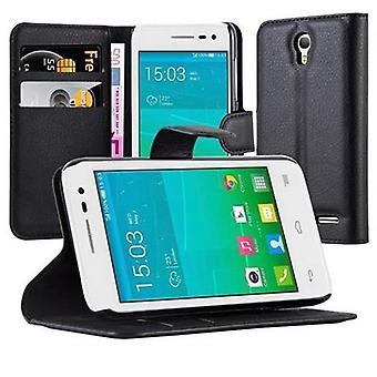 Cadorabo Case for Alcatel OneTouch S3 - Phone Case with Magnetic Closure, Stand Function and Card Case Compartment - Case Cover Case Case Case Case Book Folding Style