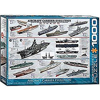 Aircraft Carrier Evolution 1000 piece jigsaw puzzle 680mm x 490mm (pz)