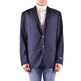 Ralph Lauren Blue Wool Blazer