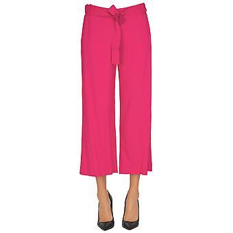 Pinko Pink Viscose Pants