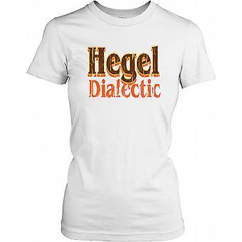 Dialettica di Hegel - cospirazione Ladies T Shirt