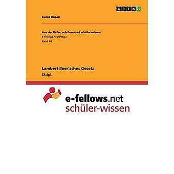 Lambert Beersches Gesetz by Karstropp & Dieter