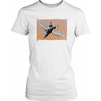 A10 Warthog Photo Ladies T Shirt