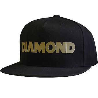 Diamond Supply Co Track Snapback Black