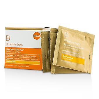 Dr Dennis Gross Alpha Beta Glow Pad For Face - Gradual Glow 20 Towelettes