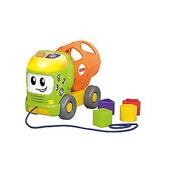 Fisher-Price Sort and Spill Learning Truck Musical Push Toy