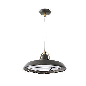 Faro - Plec Old Brown Indoor / Outdoor LED Pendant FARO66210