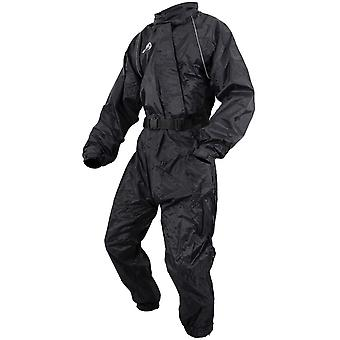 ARMR Moto Black Over Motorcycle Rain Suit