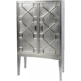 Waage Möbel handgehämmert Metall Bar Schrank