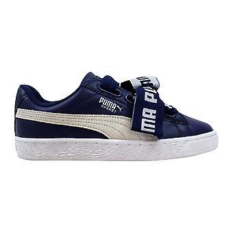 Puma Basket Heart DE Blue Depths/Puma White 364082 02 Women's