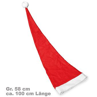 Santa Claus chapeau de feutre 100 cm rouge Santa