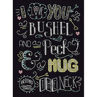 Bushel And A Peck Counted Cross Stitch Kit-8