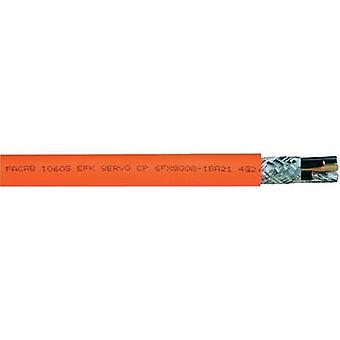 Servo lead FACAB EFK SERVO-CP 4 G 2.50 mm² Orange Faber