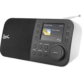 DAB+ Table top radio Dual DAB 55 AUX, DAB+, FM Black, White