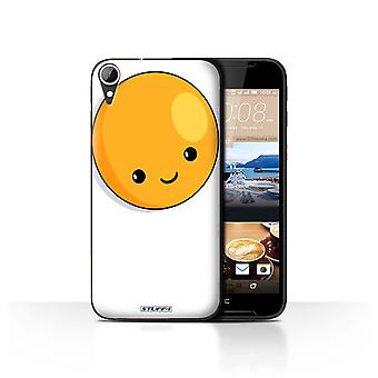STUFF4 Case/Cover for HTC Desire 830/Fried Egg/Kawaii Food