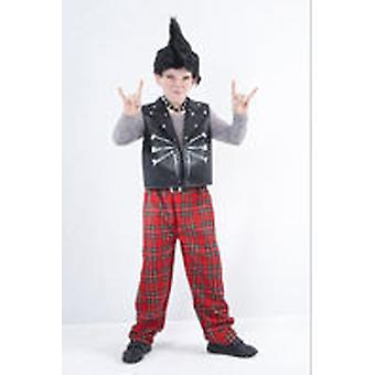 Guirca Children Costume Children Size Punky 4-6 years (Kostuums)