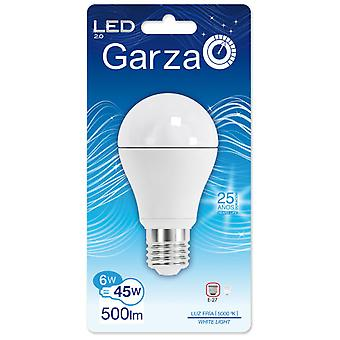 Garza Standard LED Cold Light 500Lm 6W E27 240 50K