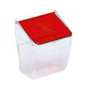 Yagu Trough With Red Cap (Birds , Feeders & Water Dispensers , For Cages)