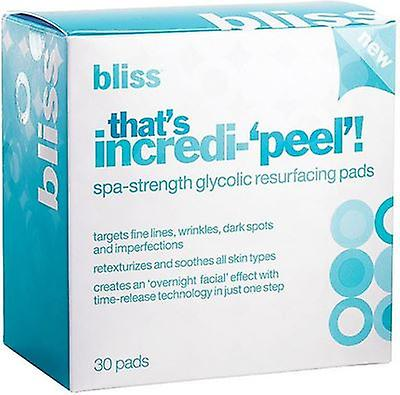 Bliss That's Incredi-'peel' Pads