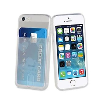 Muvit Funda minigel transparent iPhone tar
