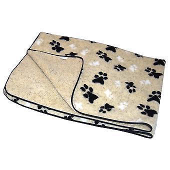 Fleece Blanket Cream Medium 125x74cm (49x29