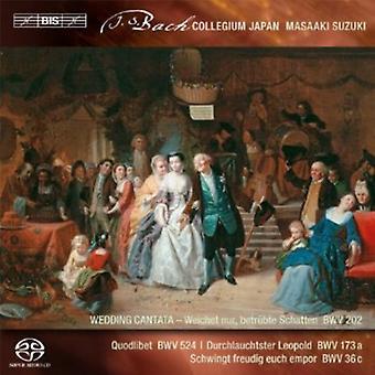 J.S. Bach - Bach: Cantates profanes, importation USA Vol. 3 [SACD]