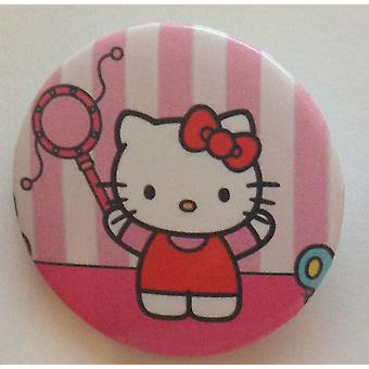 STOCK ITEM | Individual Badges | HELLO KITTY | Ideal Party Bag Badges | SINGLE BADGE