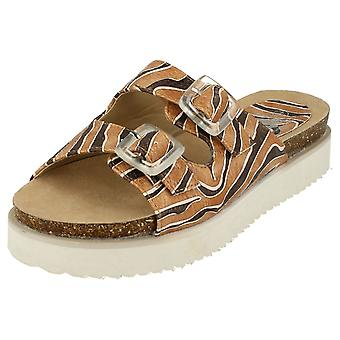 Ladies Down To Earth Mule Sandals