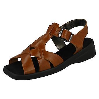 Ladies Nil Simile Flat Casual Sandals Dawlish