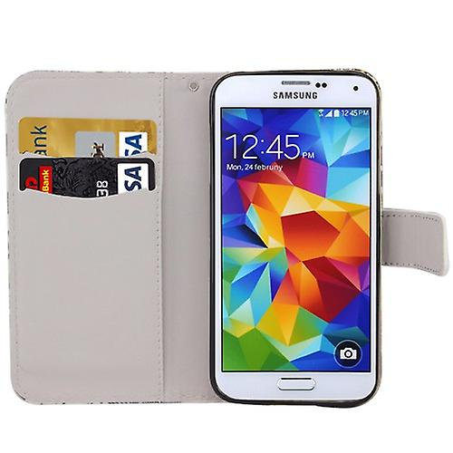 Pocket wallet motif 44 for Samsung Galaxy S5 mini DX G800 G800 F A H