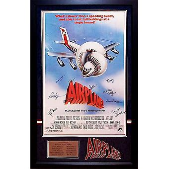 Airplane - Signed Movie Poster