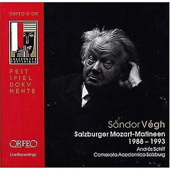 Sandor Vegh - S Ndor V Gh: Salzburger Mozart-Matineen [CD] USA import