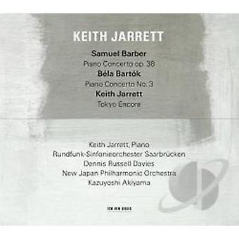 Keith Jarrett - Barber / Bartok [CD] USA import