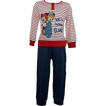 Disney Minnie Mouse jenter langermet Pyjamas ME2092