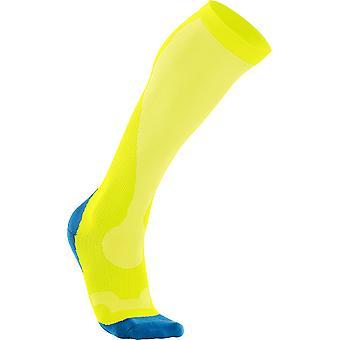 2XU Men Compression Performance Sock Yellow - MA2442e-2019