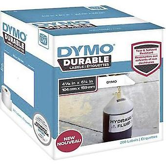 DYMO Labels (roll) 159 x 104 mm White 200 pc(s) Permanent 1933086 All-purpose labels, Address labels