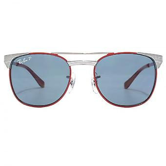 Ray-Ban Junior Signet Sunglasses In Gunmetal Red Polarised