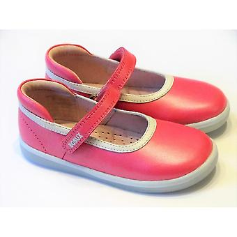 Bobux Girls Bobux Pink Leather Barefoot Shoes | Bobux Twirl