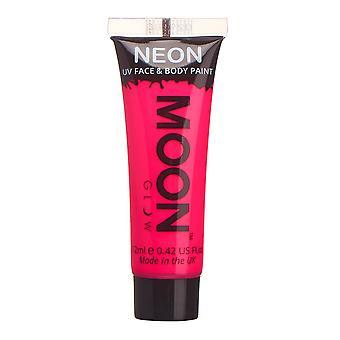Moon Glow - 12ml Neon UV Face & Body Paint - Intense Pink